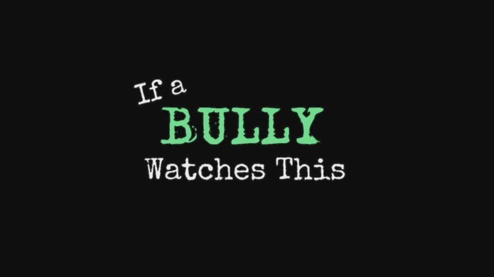 If A Bully Watches This image