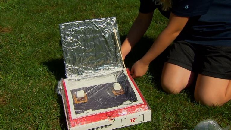Science U: Solar Oven S'mores