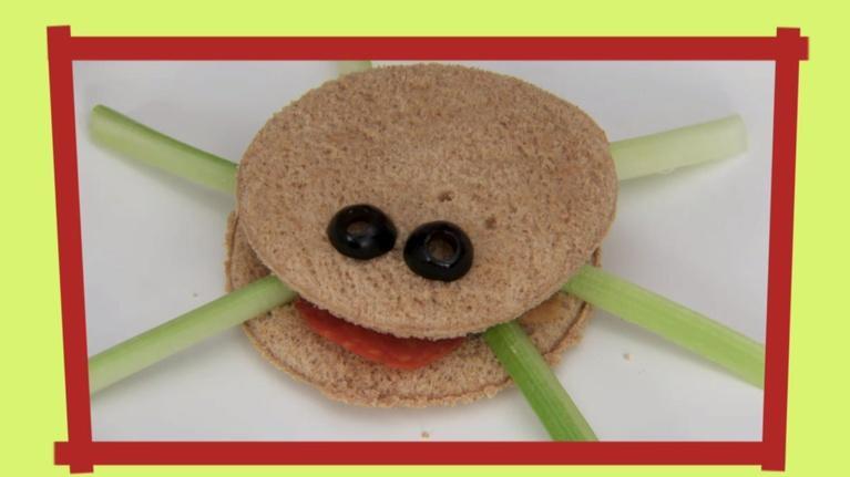 ThinkTV Kids & Family: Kids in the Kitchen - Itsy Bitsy Spider Sandwiches