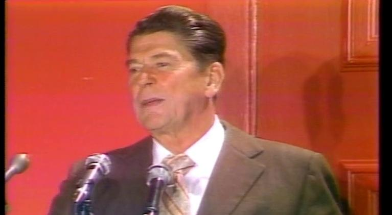 WQLN Local Productions from the 1970's: Lunch with Ronald Reagan
