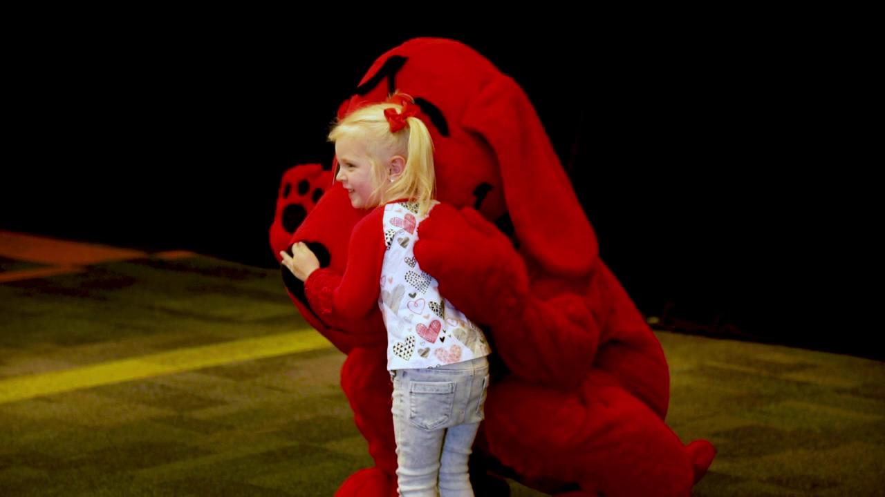 Clifford's Birthday at Glazer Children's Museum