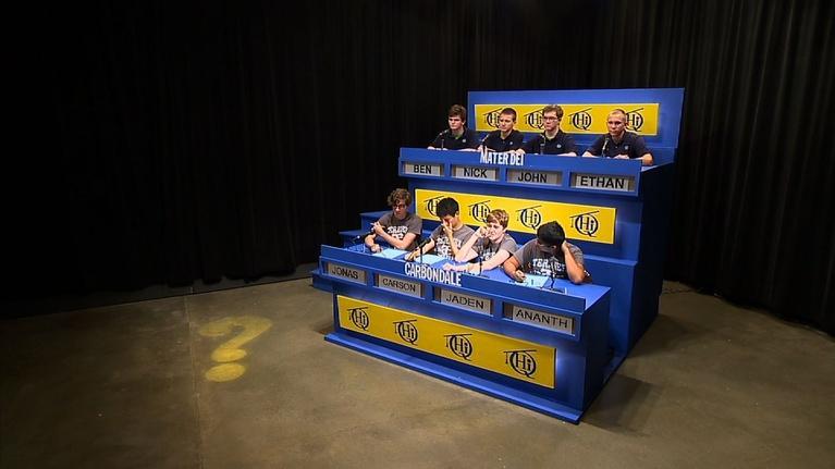 Scholastic Hi-Q: Carbondale vs Mater Dei 2629