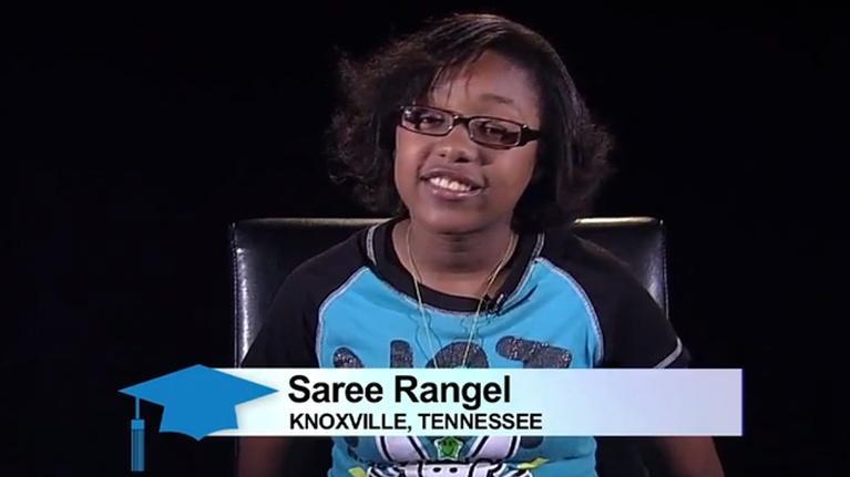 American Graduate Stories: Saree Rangel