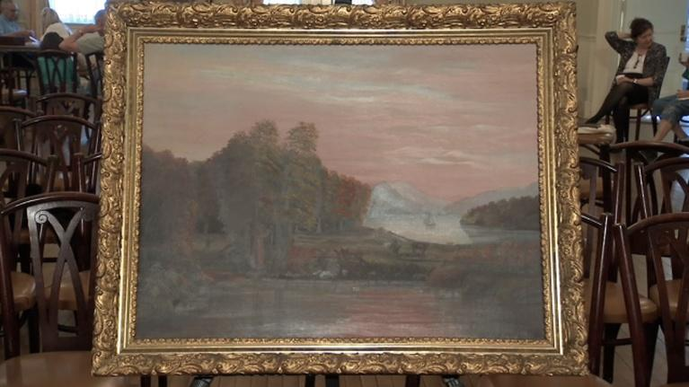 Southern Tier Treasures: Antique Framed Painting