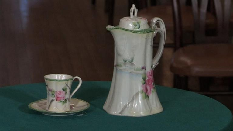 Southern Tier Treasures: Cocoa Pitcher Set