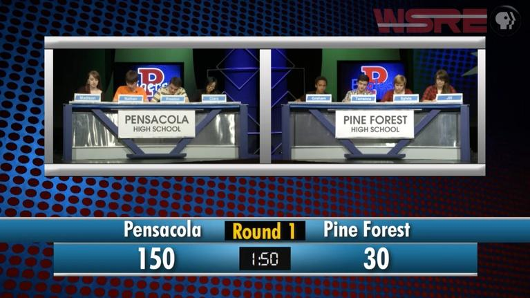 Academic Challenge: 2014 Pensacola vs Pine Forest