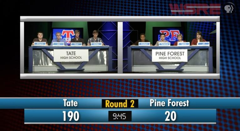 Academic Challenge: 2014 Tate vs Pine Forest