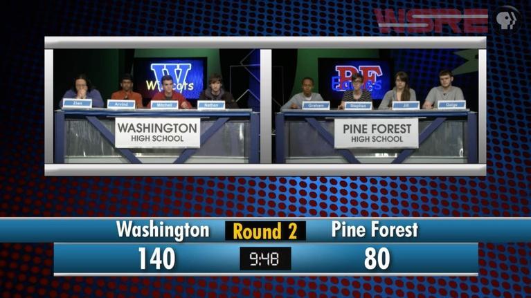 Academic Challenge: 2014 Washington vs Pine Forest