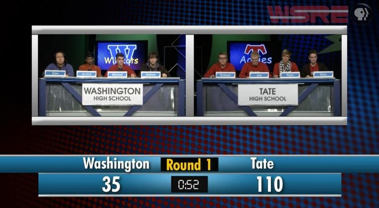 Academic Challenge: 2014 Tate vs Washington