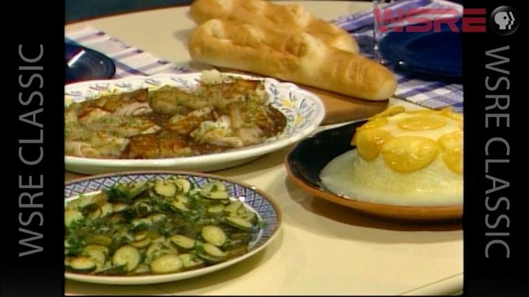 Gourmet Cooking with Earl Peyroux: Sea Bass in Potato Jackets