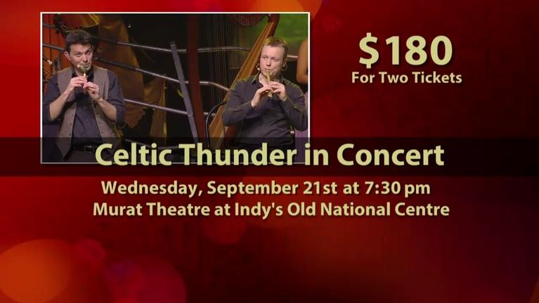 WTIU Specials: Celtic Thunder tickets