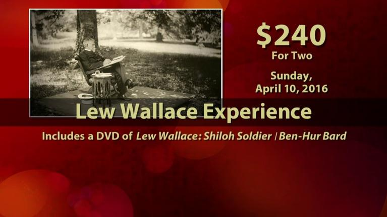 WTIU Specials: Lew Wallace Day trip tickets