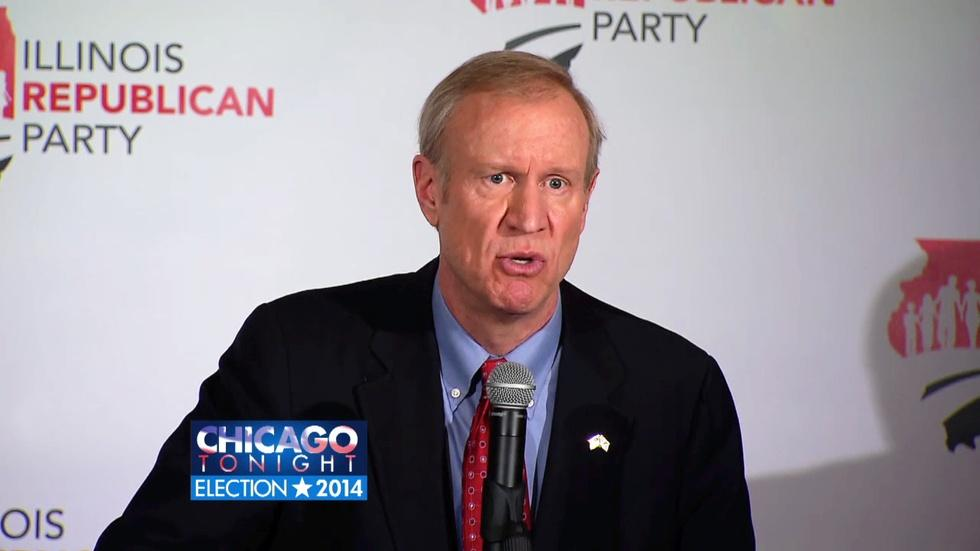 Rauner, Quinn on Day After Election image
