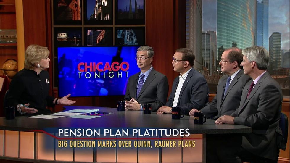 Pension Reform and the Gubernatorial Race image