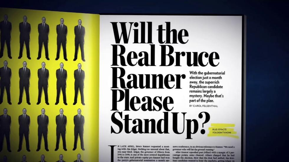"Article Reveals the ""Real"" Bruce Rauner image"