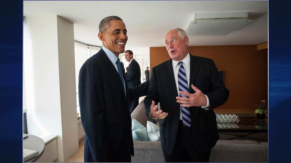 President Campaigns for Quinn image