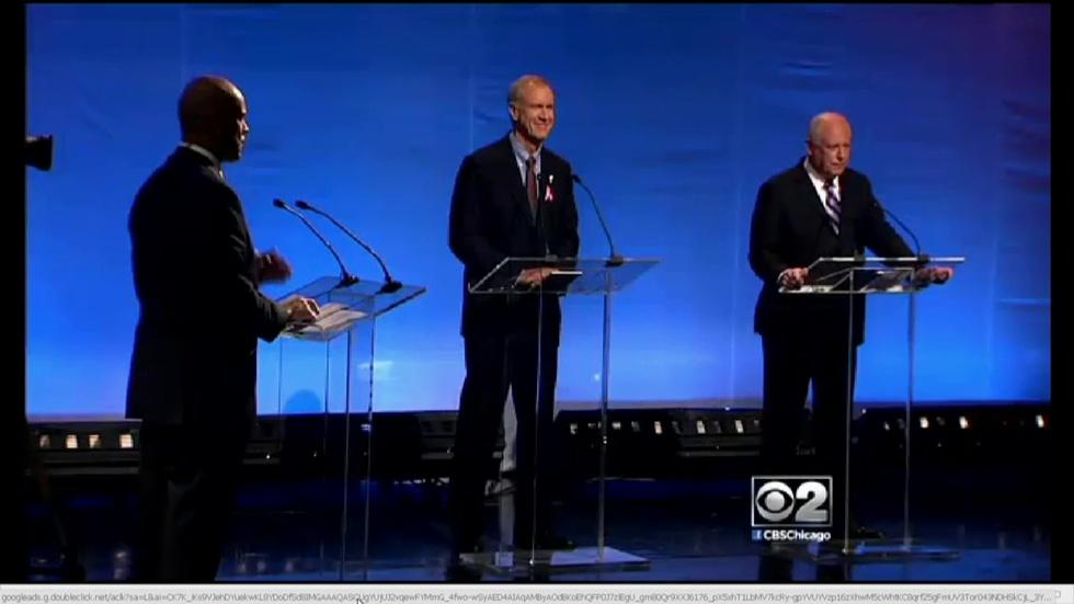 Quinn, Rauner Face Off in Second Debate image