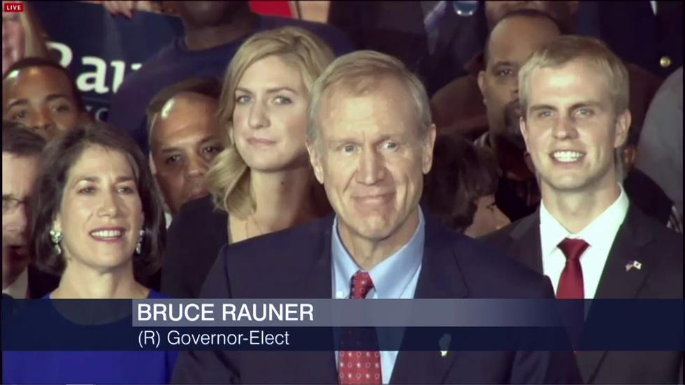 Quinn Concedes, Rauner Elected Governor image