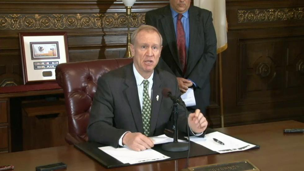 Rauner Takes Aim At Political Hires image