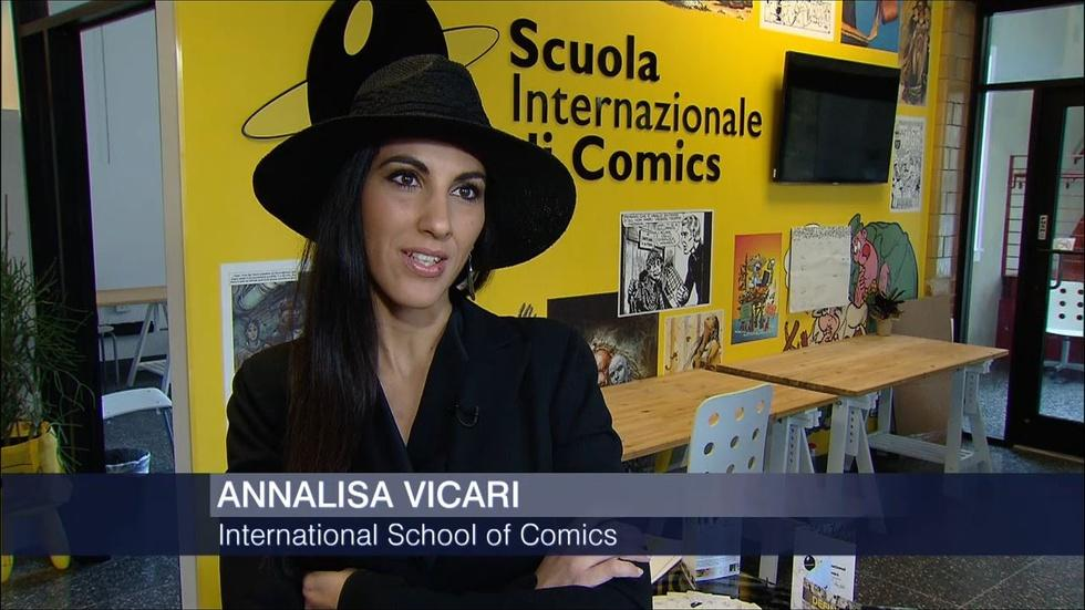 School of Comic Art Making Superheroes image