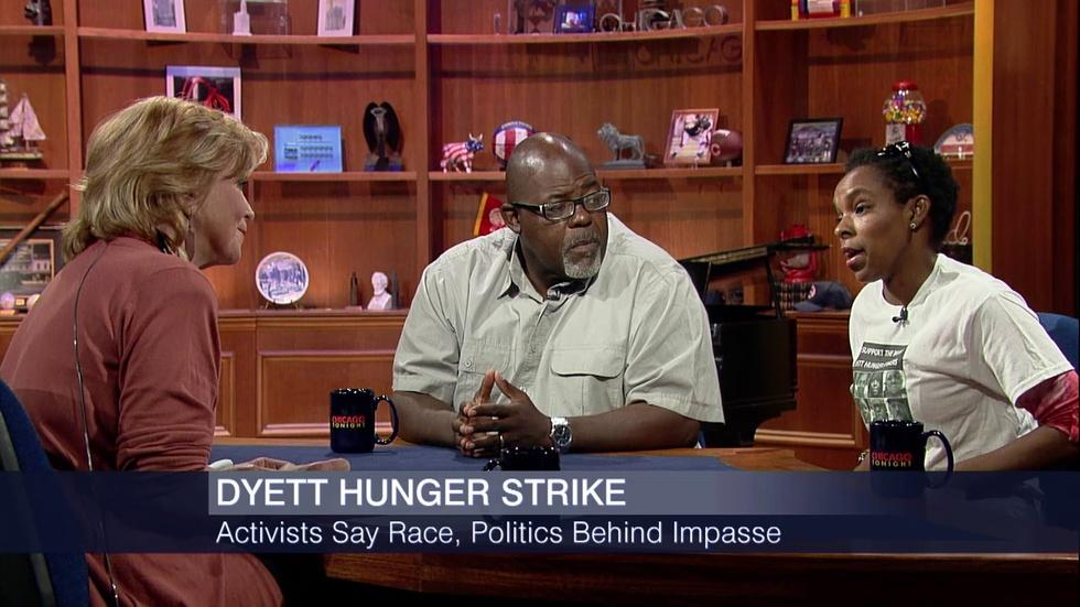 Dyett High School Hunger Strike image