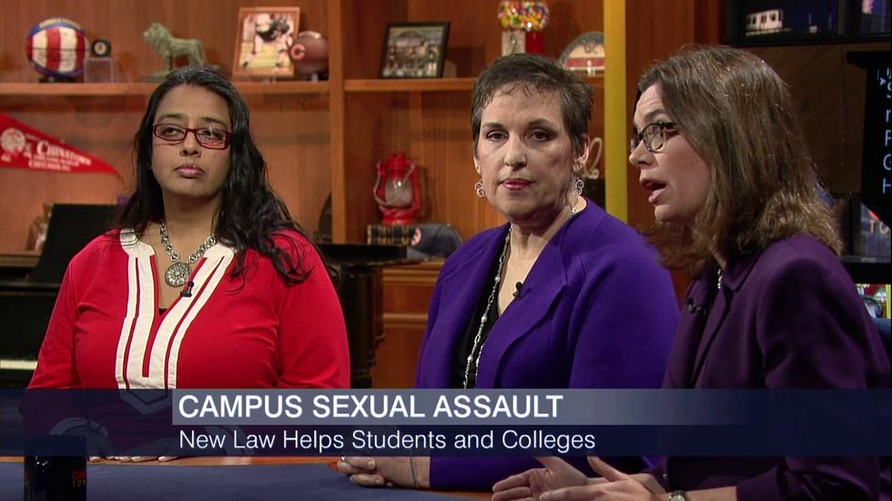 October 8, 2015 - Addressing Sexual Assault on College image