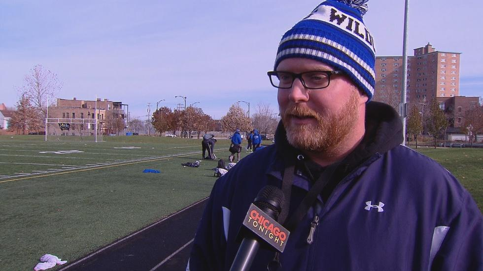 Web Extra: Wendell Phillips Academy Football Coach image