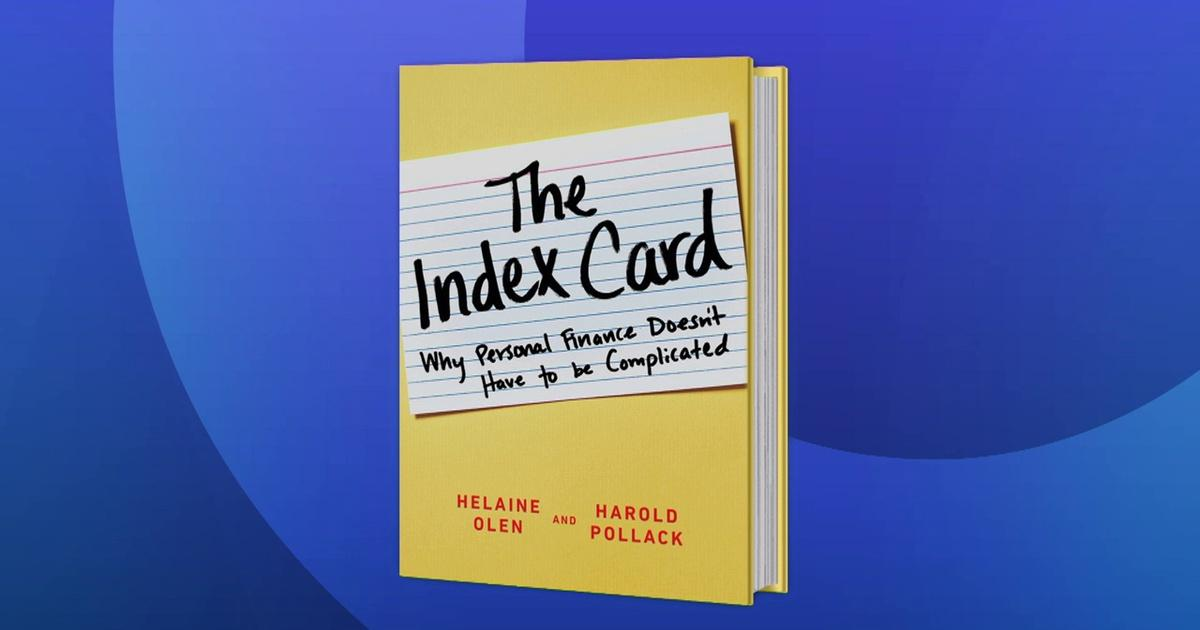 Why An 'Index Card' of Financial Advice is All You Need