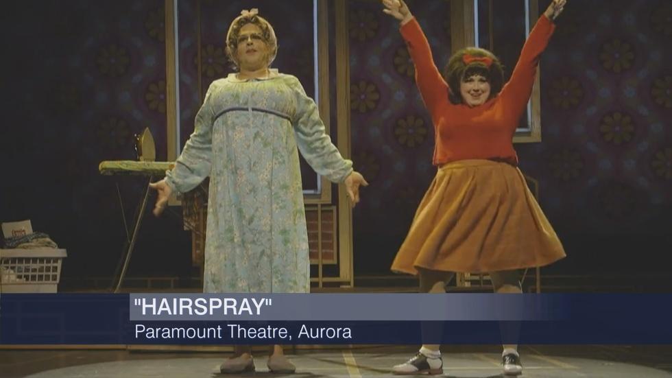 Web Extra: Hedy Weiss Reviews Bye Bye Birdie, Hairspray image