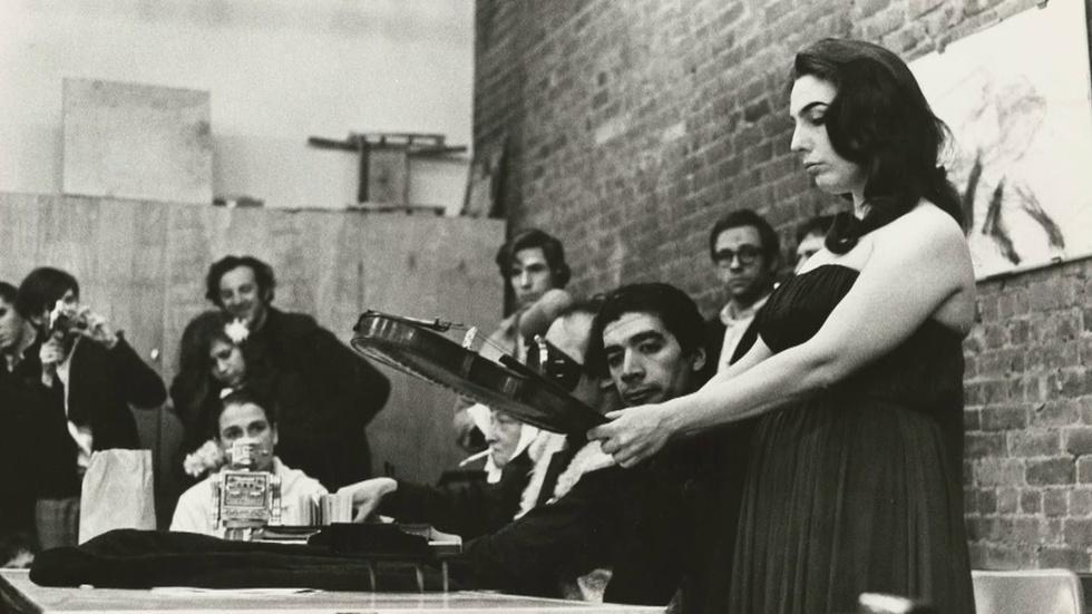 Cellist Charlotte Moorman's Legacy Showcased in Exhibit image