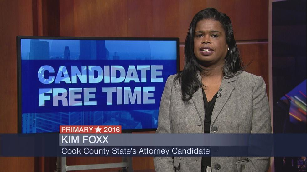 Candidate Free Time: Kim Foxx image