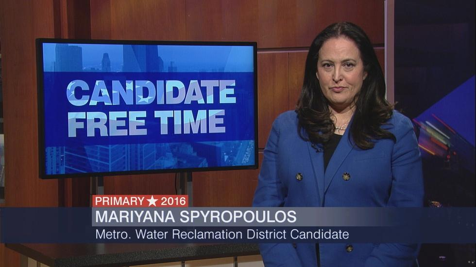 Candidate Free Time: Mariyana Spyropoulos image