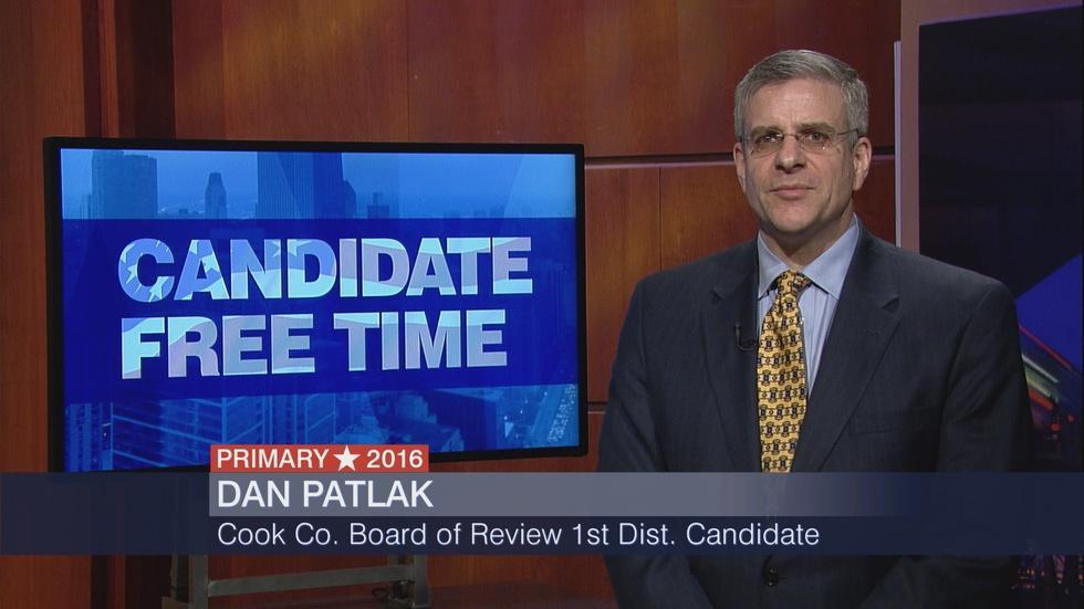 Candidate Free Time: Dan Patlak image