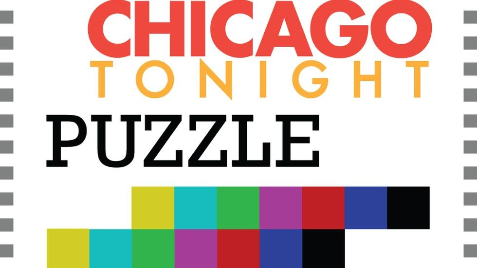Web Extra: Chicago Tonight Puzzle, April Challenge image