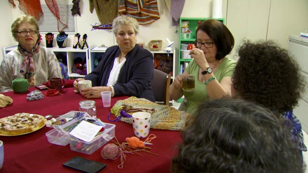 Local Crafting Group Knits Refugees, Immigrants Together image