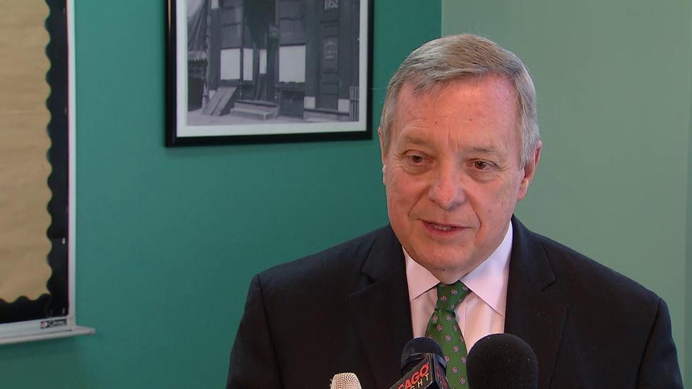 Dick Durbin Responds to Speculation He'll Run for Governor image