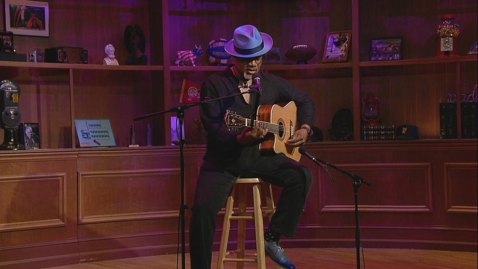 "Web Extra: Cannon Performs ""Chicken Comin' Home to Roost"" image"