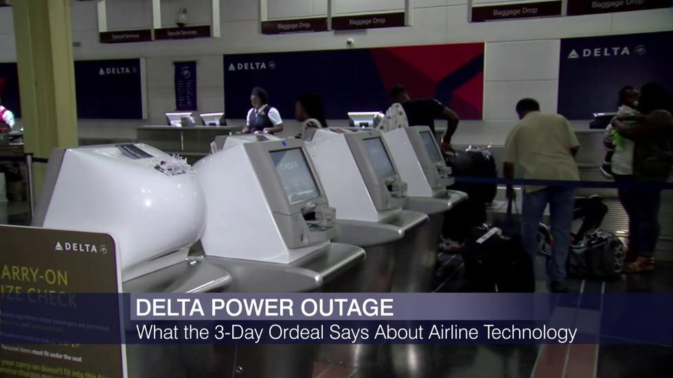 Delta Outage Raises Questions About Airline Computing System image
