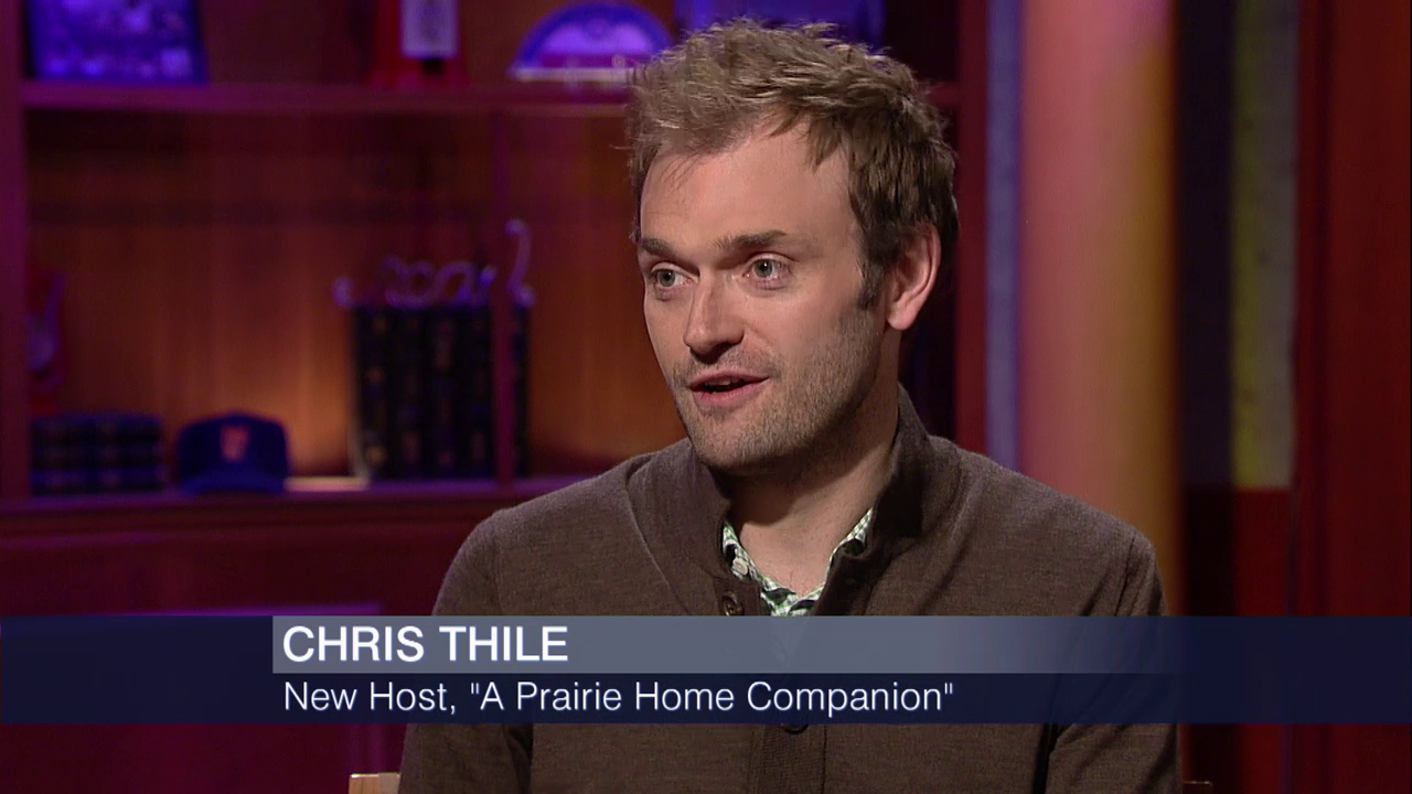 Chris Thile On A Prairie Home Companion Punch Brothers Season