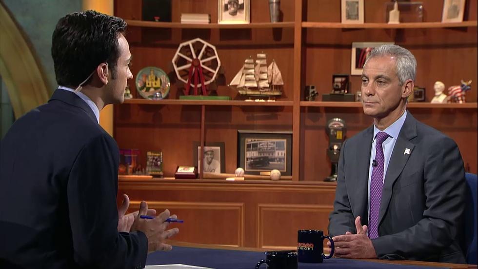 Mayor Emanuel Addresses Chicago Gun Violence, CPS Finances image
