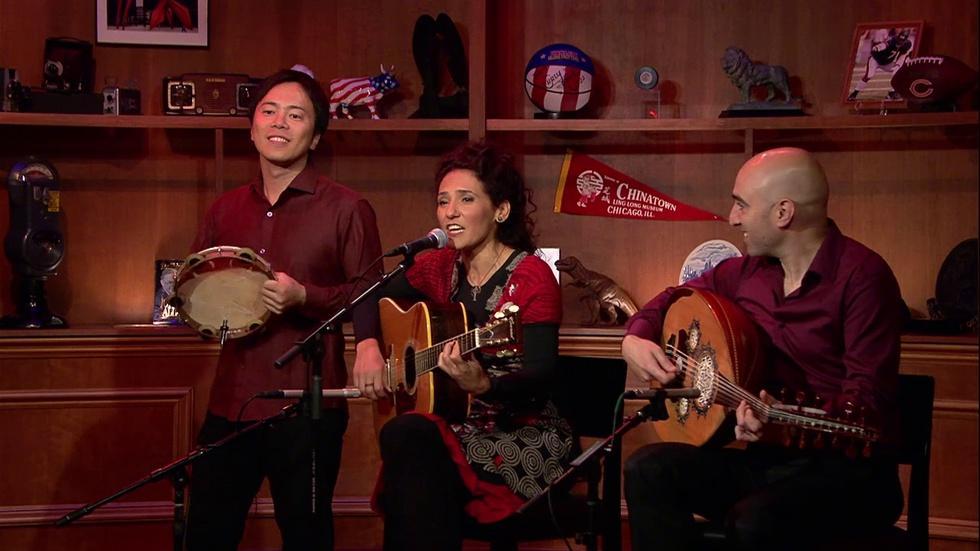 Saffron Caravan Uses Music to Build Bridges Between Cultures image
