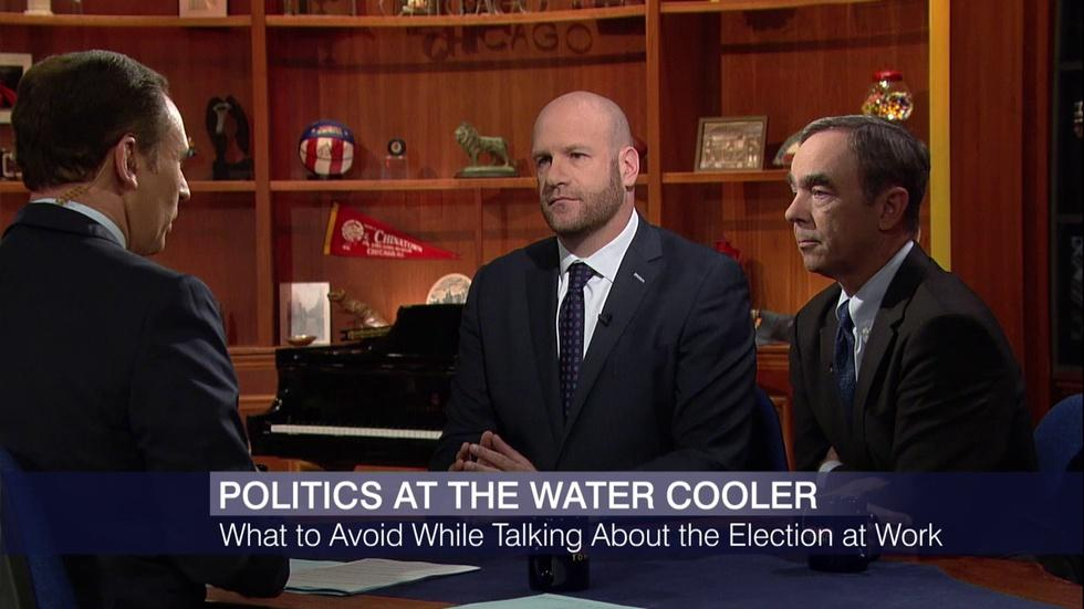 Talking Politics at Work: What to Avoid at the Water Cooler image