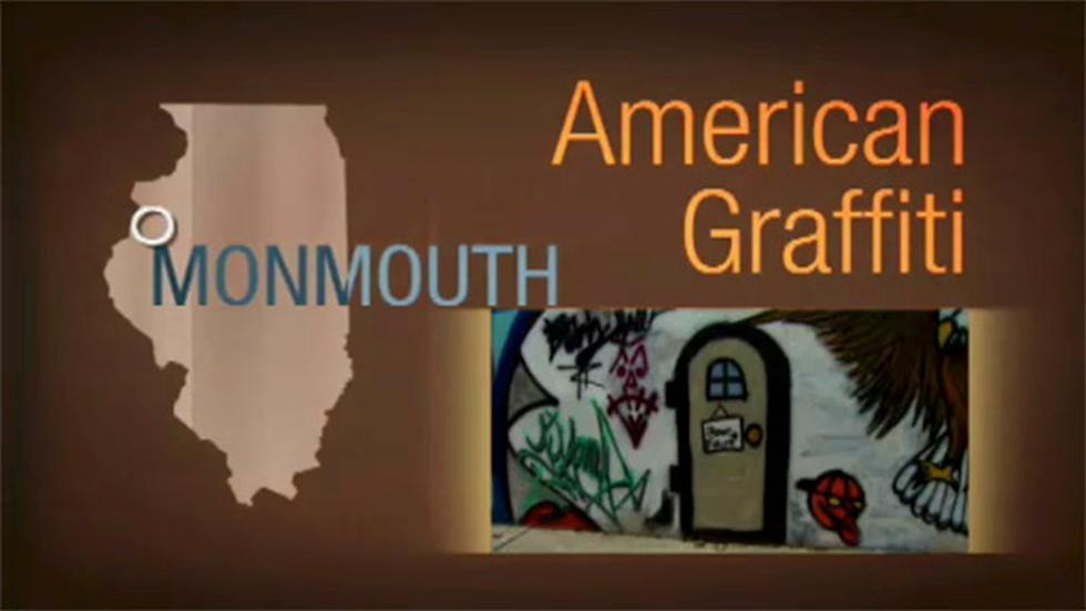 Arts Across Illinois: American Graffiti image