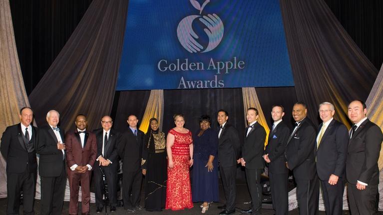 Golden Apple Awards for Excellence in Teaching & Leadership: Golden Apple Awards 2016