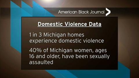 American Black Journal -- Domestic Violence & The NFL / Focus: HOPE's 40th Annual Walk