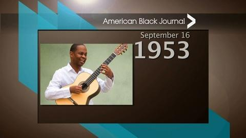 American Black Journal -- On This Day Detroit – 9/13/15