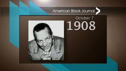 American Black Journal -- On This Day Detroit – 10/4/15