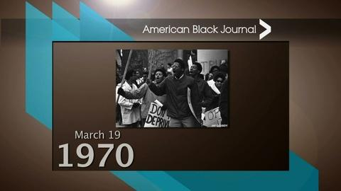 American Black Journal -- On This Day Detroit – 3/13/16