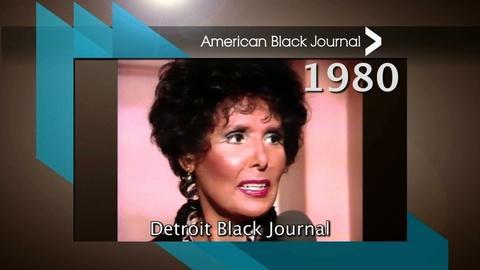 American Black Journal -- Lena Horne on Detroit Black Journal