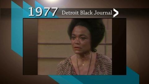American Black Journal -- Detroit Black Journal - Eartha Kitt